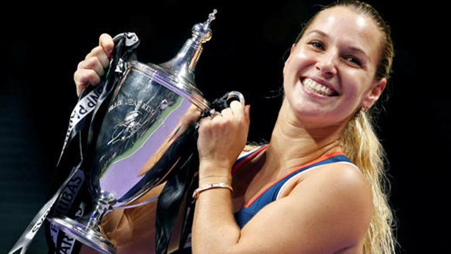 Dominika Cibulkova, de novata a campeona del Masters