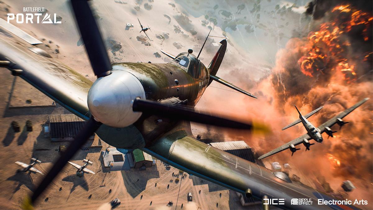 Una de las imágenes de 'Battlefield'.