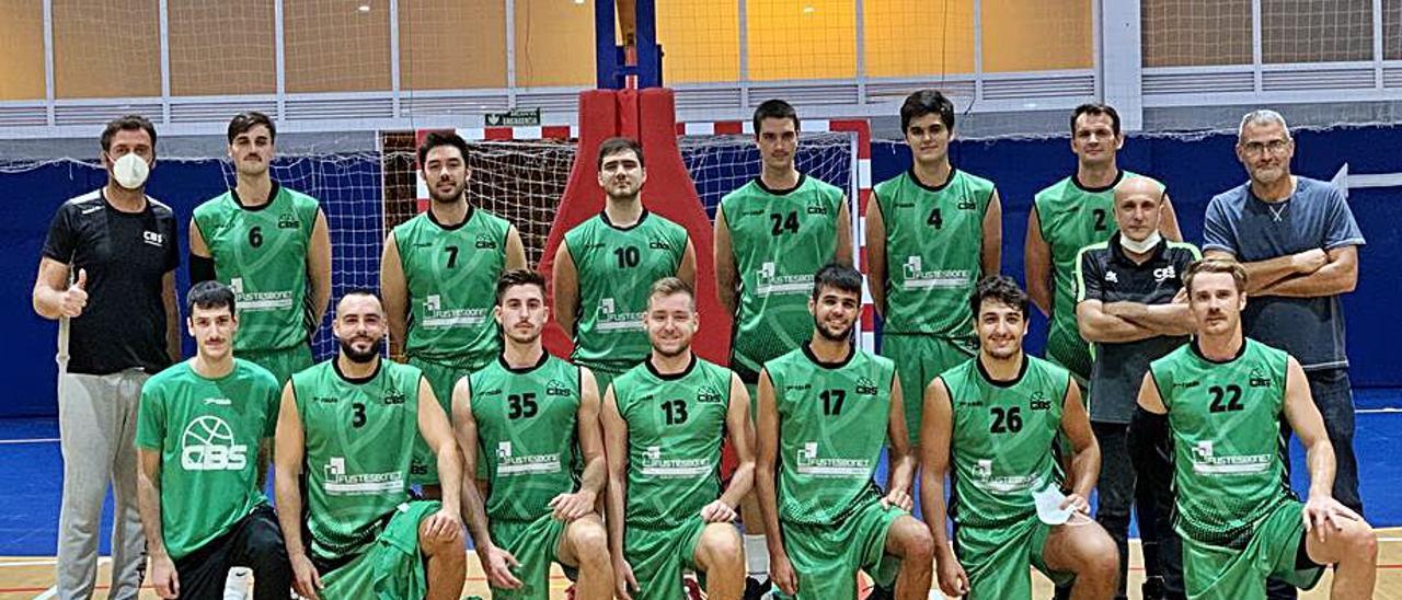 Jugadores que componen la plantilla del CB Sueca. | LEVANTE-EMV