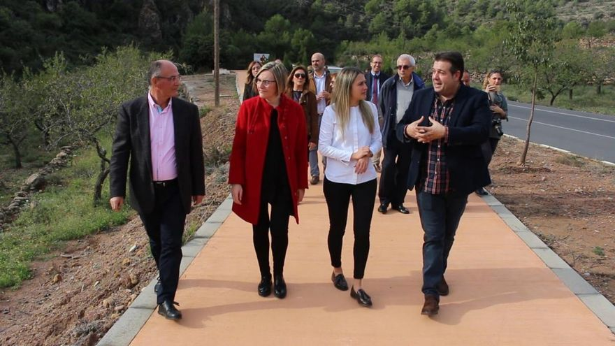 Inician las obras para completar el paseo que conectará la Vall con Alfondeguilla