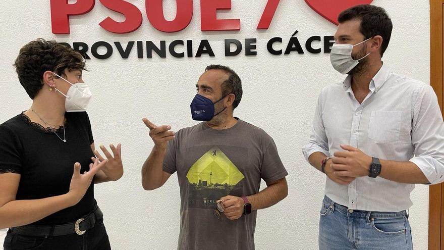 Miguel Ángel Morales, reelegido secretario general del PSOE de Cáceres