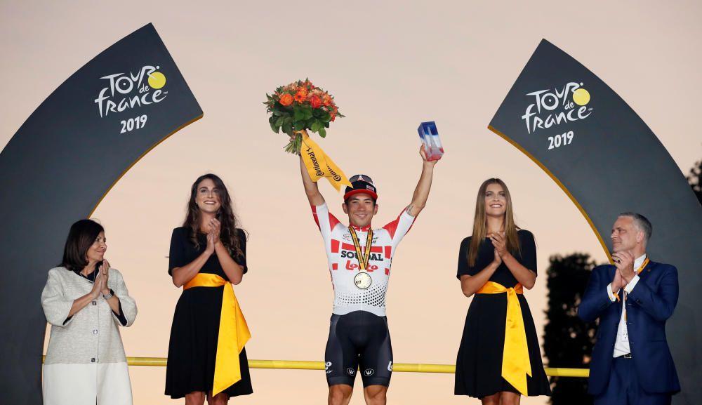 Tour de Francia: La 21ª etapa, en imágenes.