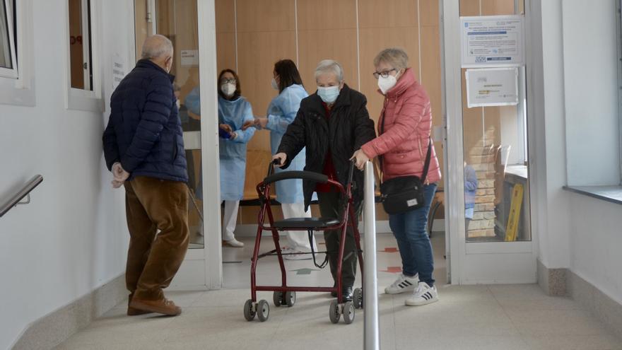 Alivio en los hospitales gallegos con casi 60 pacientes menos en un día