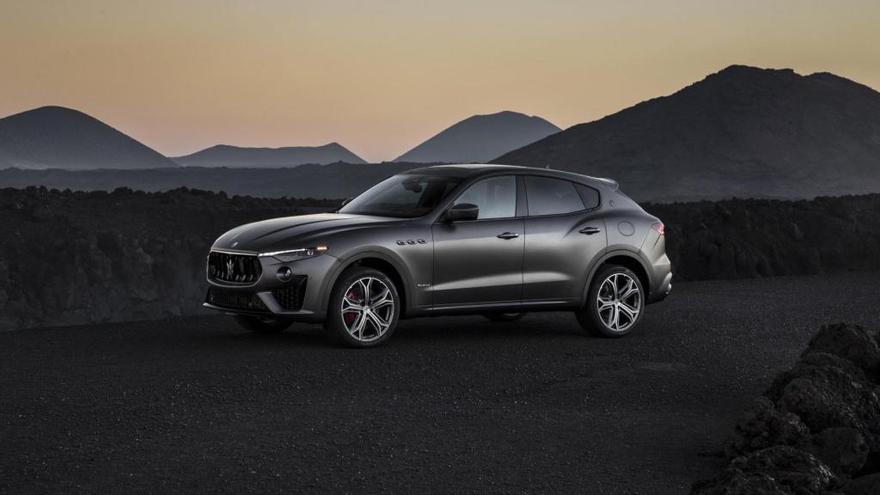 Maserati lanza la nueva edición limitada Levante Vulcano