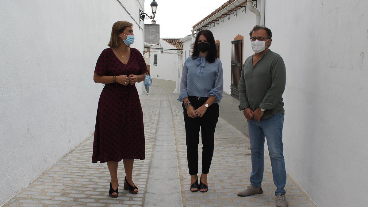 Cristina Piernagorda, Purificación Joyera y Ramón Martín.