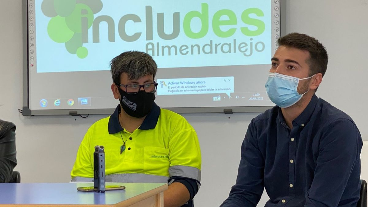 Raúl Salguero junto a Fran Puerto