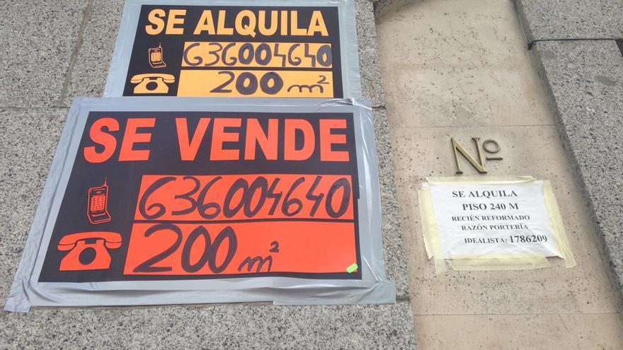 La compraventa de viviendas en Canarias se desploma hasta caer un 52,2% en enero