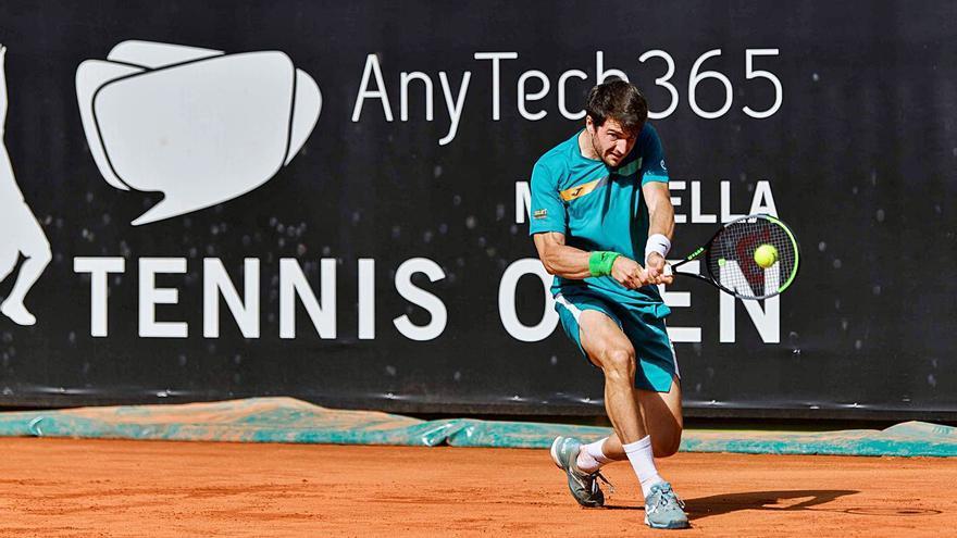 Martínez escala hasta  el 82.º puesto de la ATP           tras ganar en Marbella                       en dobles e individuales