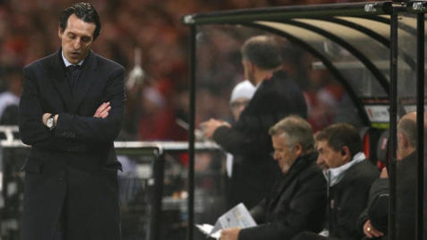 Emery: la afición no le quiere
