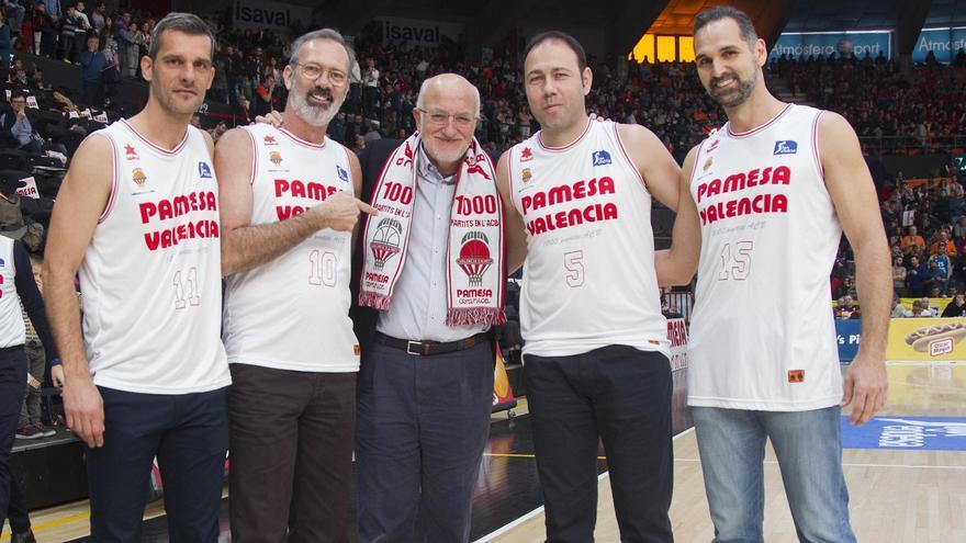 El Valencia Basket camina hacia los 1.250 partidos ACB en progresión de triunfos