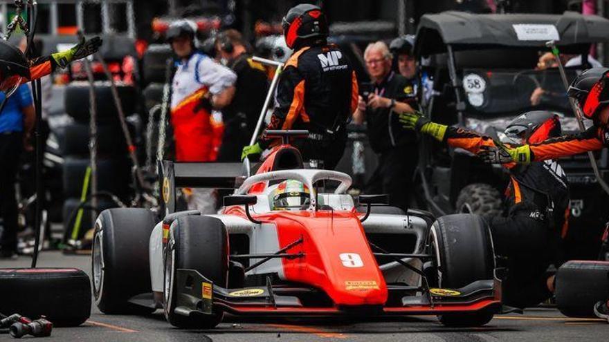 Merhi termina octavo en la segunda carrera en Azerbaiyán