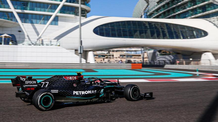 Bottas bate a Hamilton en los segundos libres de Abu Dabi