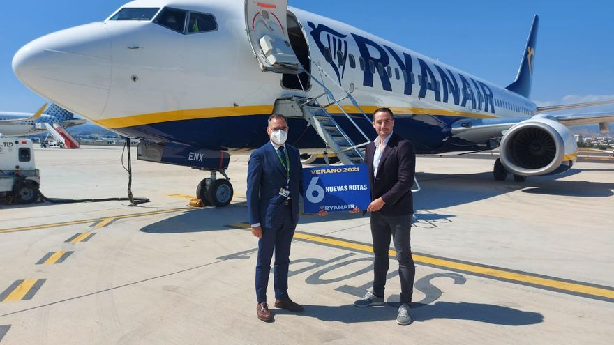 Ryanair contará con más de 315 vuelos semanales este verano