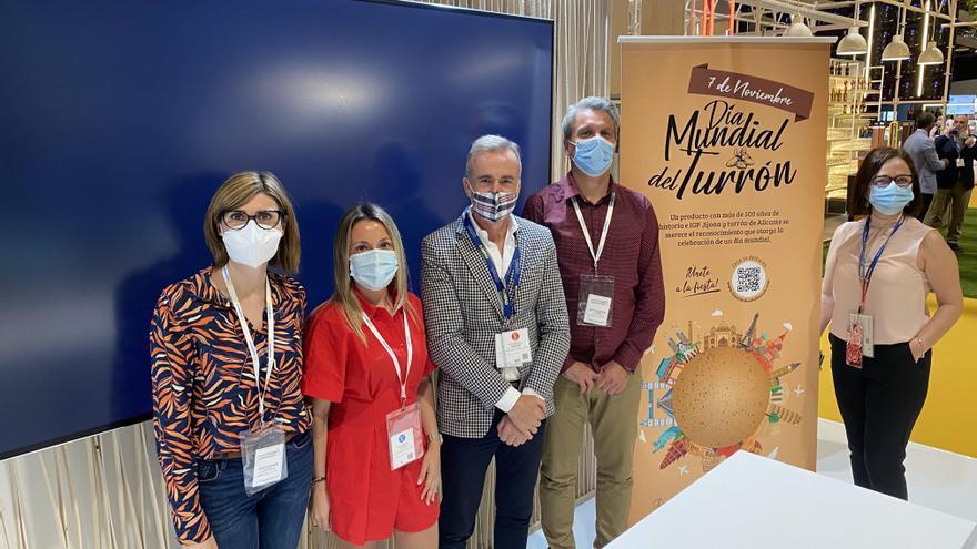 Xixona reivindica en Madrid Fusión que el 7 de noviembre sea el Día Mundial del Turrón