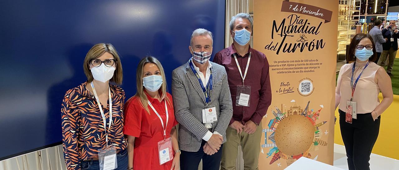 Los representantes xixonencos en Madrid Fusión.