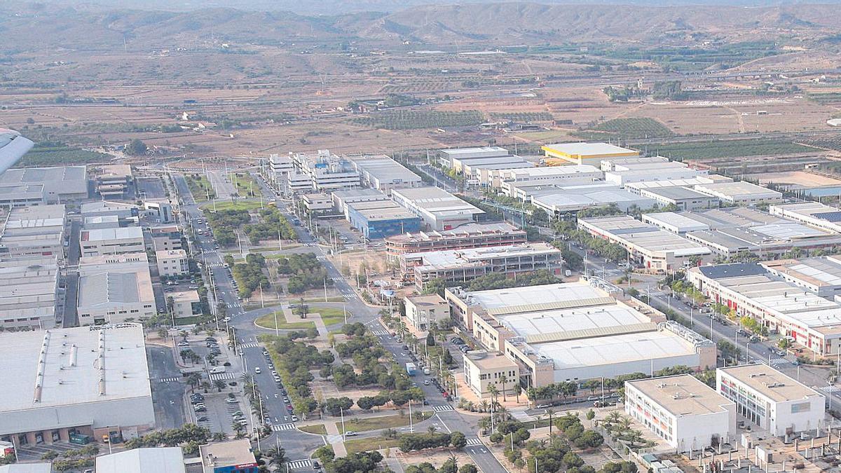 Parque Empresarial de Elche.