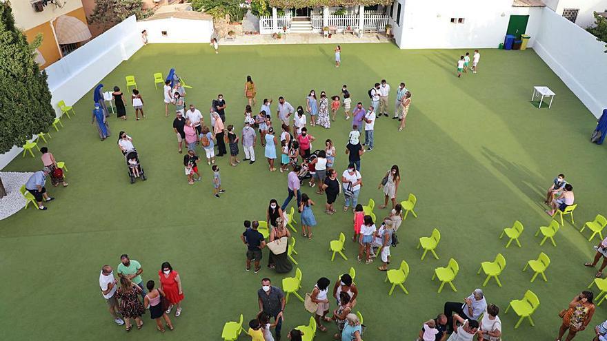 El Colegio Virgen Milagrosa presenta su nuevo edificio y patio
