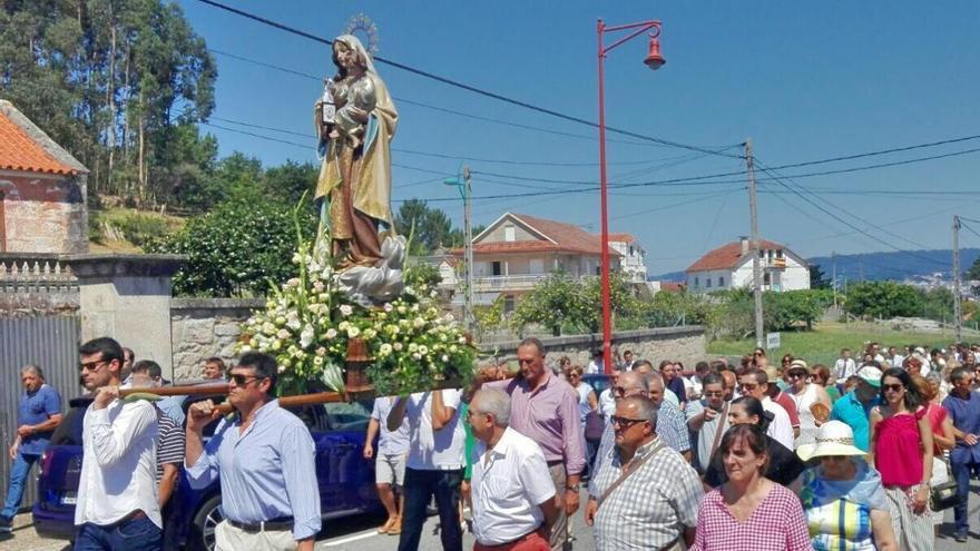 Marín celebra hoy el día grande en honor al Carmen sin la procesión marítima