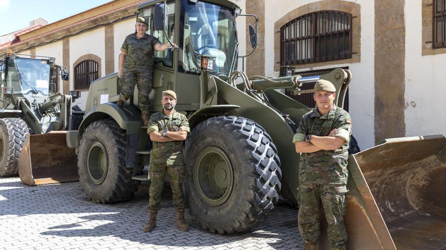 La unidad salmantina del Ejército que más misiones ha realizado en el exterior