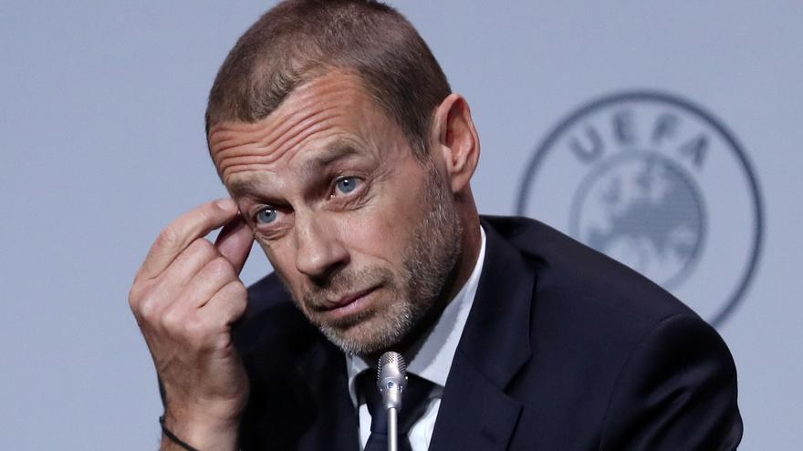 La UEFA suspende el expediente sancionador contra los clubes de la Superliga