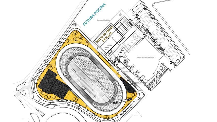Crevillent proyecta la construcción de dos pistas para deportes en arena de playa