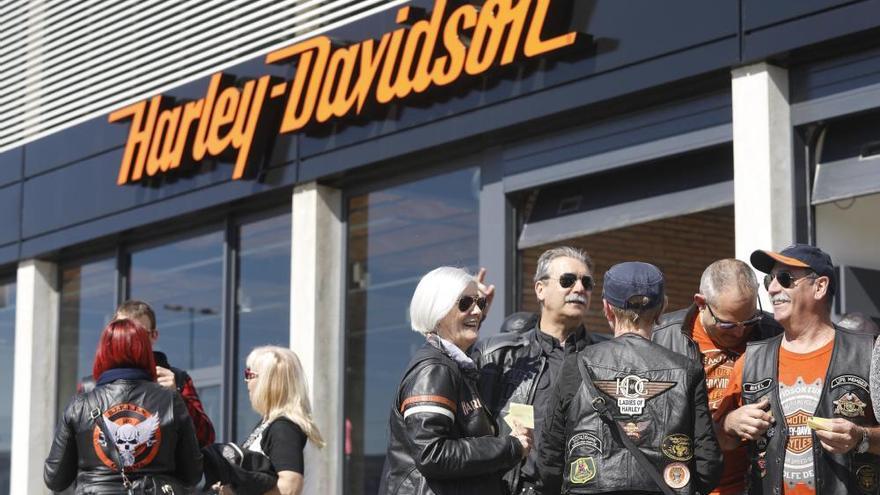 La Harley Davidson s'instal·la a Fornells