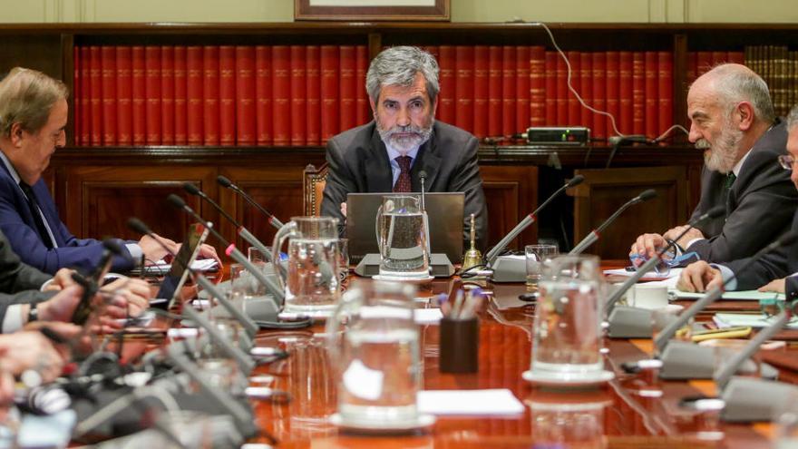 El Poder Judicial pide ser consultado sobre la reforma del Gobierno