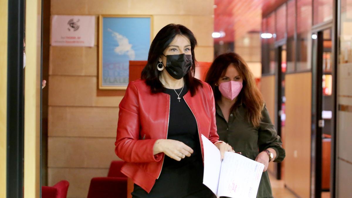 La procuradora Ana Sánchez