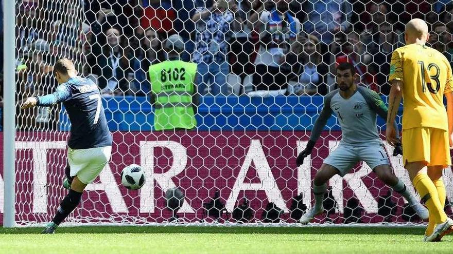 El VAR juega a favor de Francia