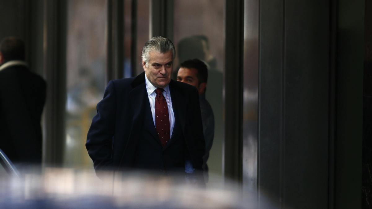 El ex tesorero del PP, Luis Bárcenas, llega a la Audiencia Nacional