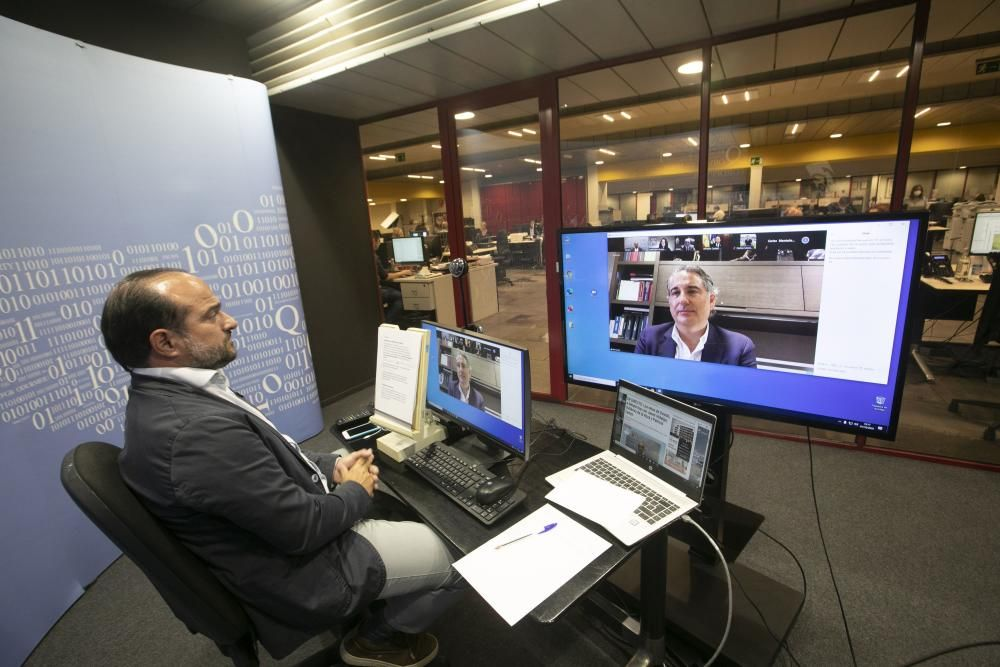Los retos de Oviedo, a debate con Javier Hidalgo, Gutiérrez de la Roza y Patricia Cartes