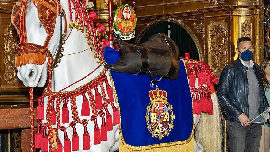 El Caballo Histórico, con nuevas galas
