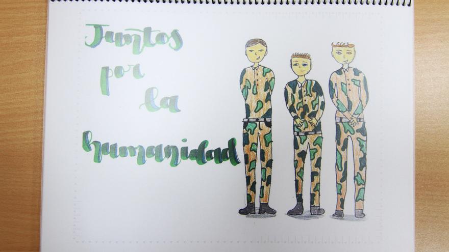 Ganadores del Concurso de Enseñanza Escolar de los Premios Ejército 2021 en el ámbito de Canarias