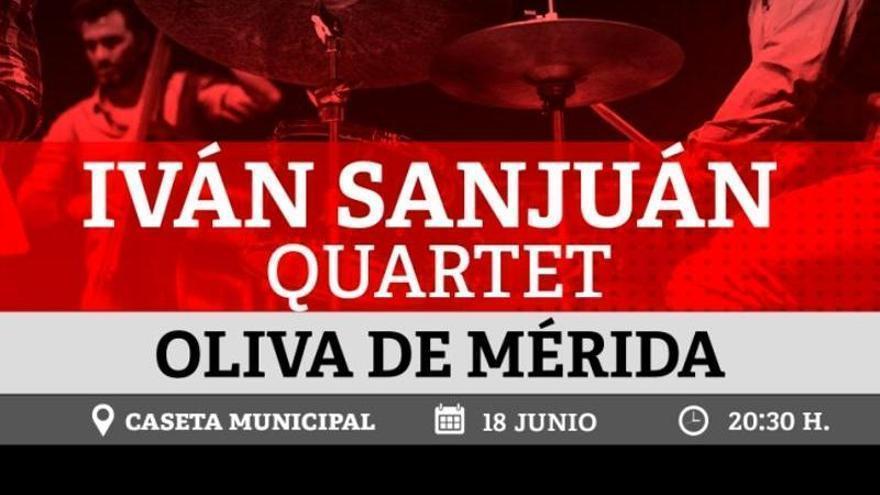 Iván Sanjuan inaugura en Oliva de Mérida la IV edición del Festival DíJazz