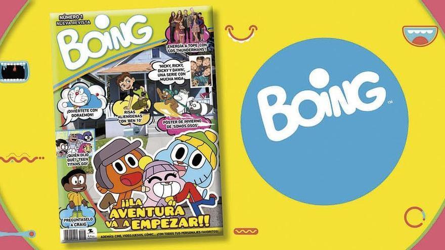 Prensa Ibérica & Grupo Zeta vuelve a editar la revista 'Boing'