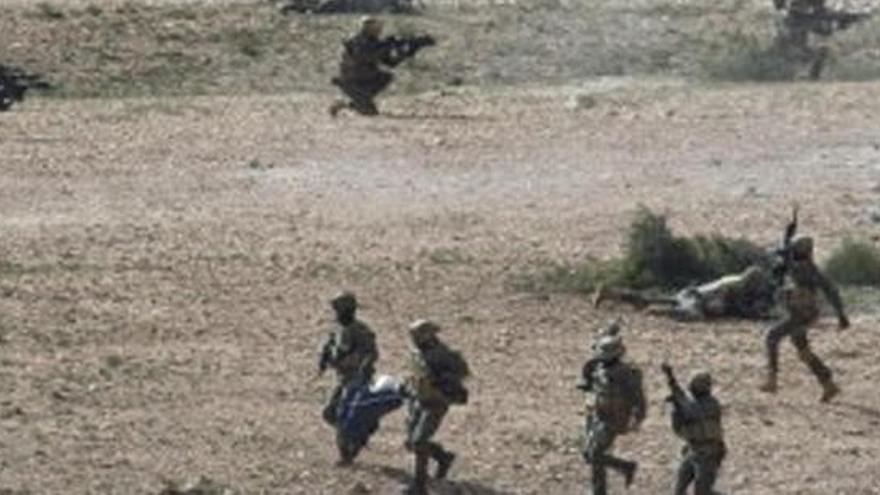 Un legionario muere de un disparo durante unas maniobras en Alicante