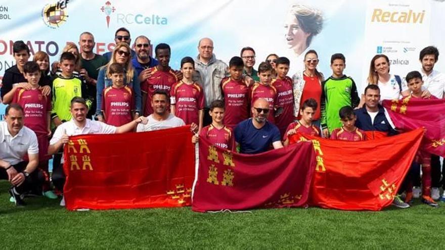 Murcia se cuelga el bronce en el Nacional de fútbol 8