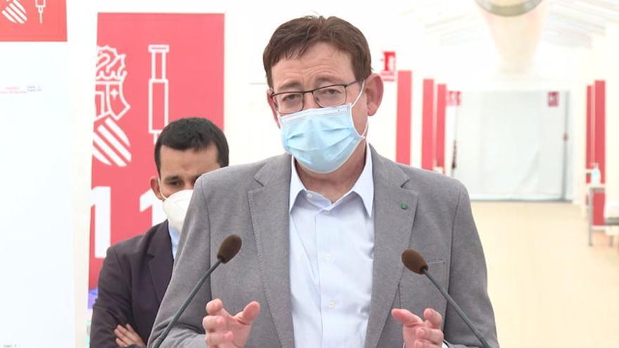 Puig anuncia el arranque de la vacunación a los docentes de la Comunitat