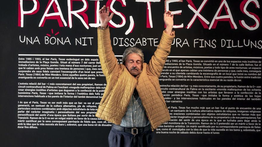 Exposición en La Misericòrdia del mítico bar 'París, Texas' de Palma