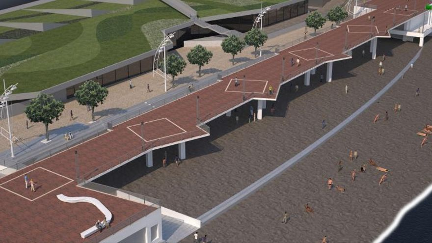 Las Palmas adjudica la pasarela de la Cícer a Satocan por 3 millones