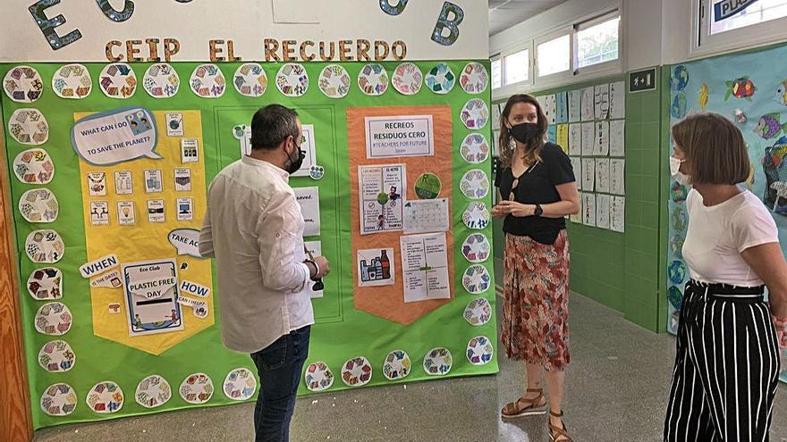 El CEIP El Recuerdo de San Javier reduce un 95%  el uso de plásticos desechables durante el recreo