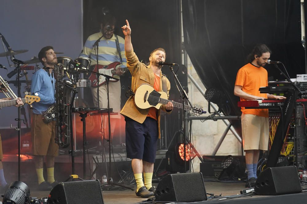 Concert d'Oques Grasses en la clausura de l'Strenes a Girona