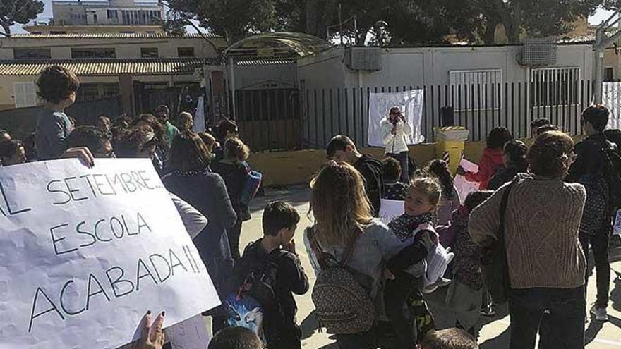 Las familias de Ses Comes y Sa Torre preparan nuevas protestas en Manacor