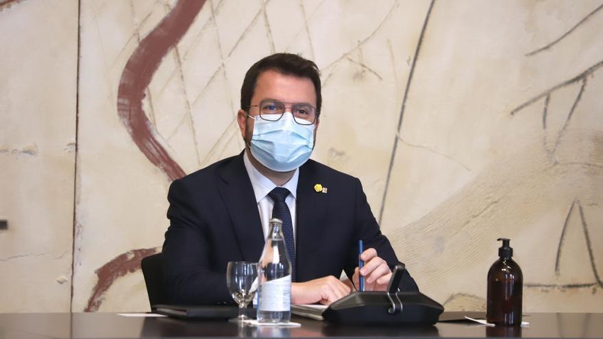 Aragonès prepara un pressupost de 2022 negociat només amb els independentistes i per a entrar en vigor l'1 de gener