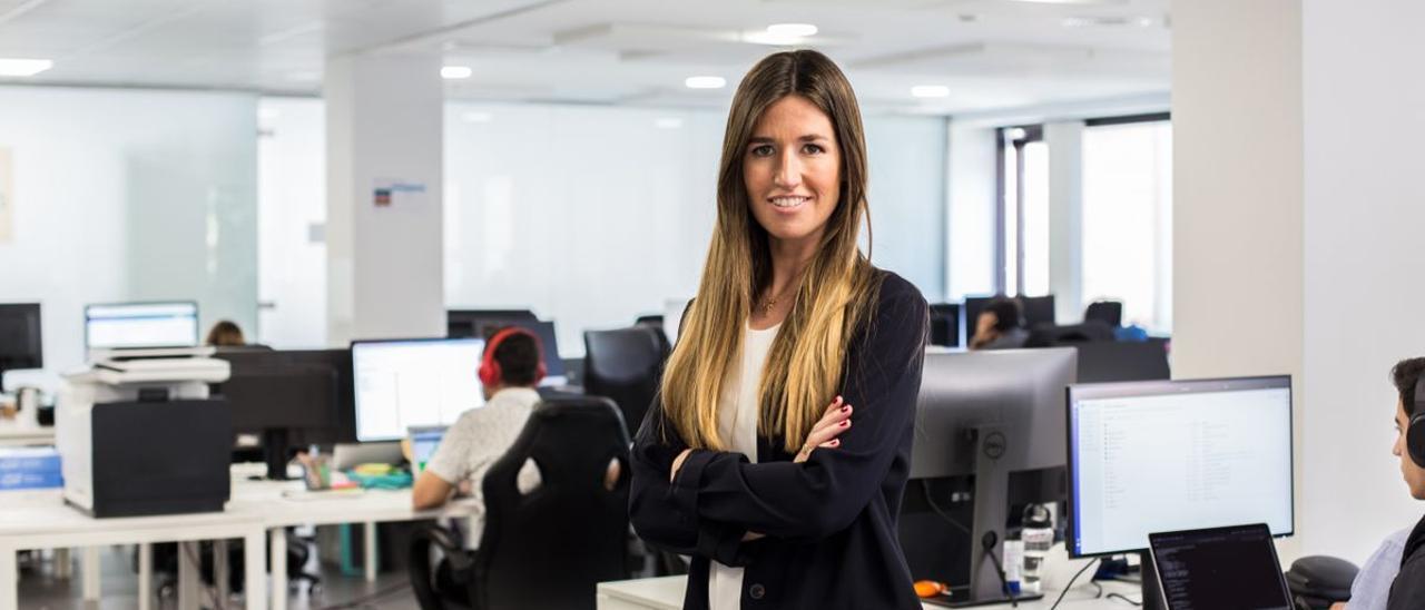 La emprendedora Clàudia Pierre.