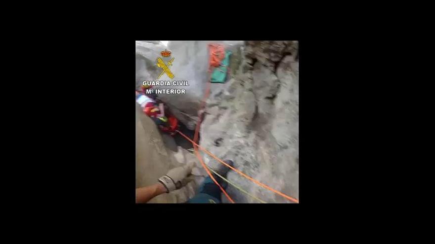 Bergrettung birgt verletzten Deutschen auf Mallorca