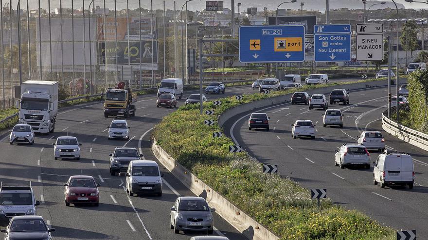 El tráfico en Mallorca en tiempos de pandemia | 20% menos coches, 36% menos multas, 30% menos muertes
