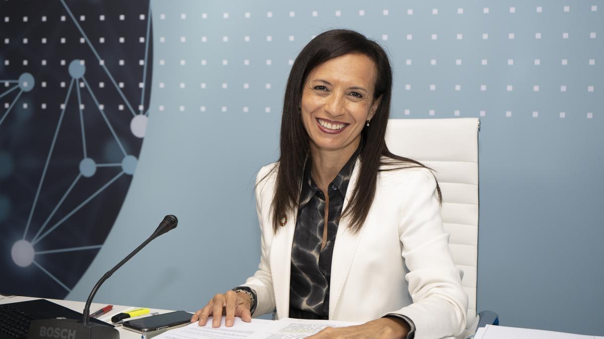 La presidenta de Red Eléctrica, Beatriz Corredor.