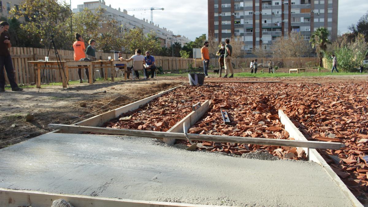 Empiezan en Benicalap las obras del Centre Cívic Verd del proyecto GrowGreen, que se extenderán seis meses