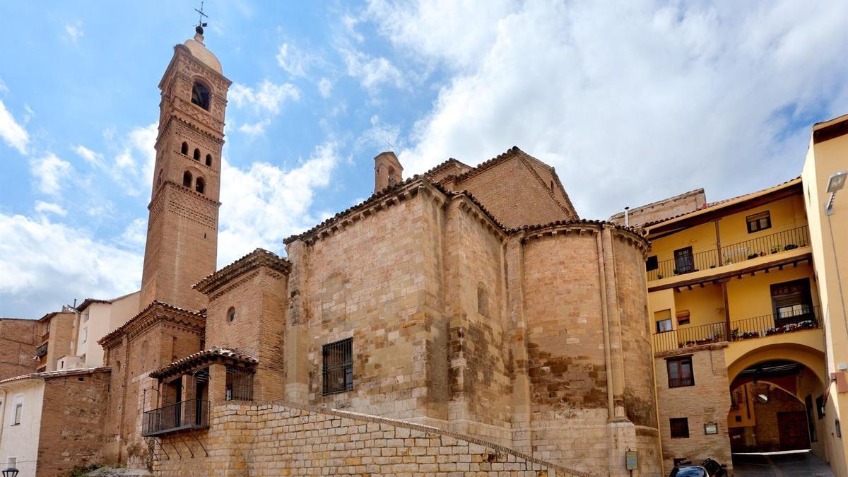 Iglesia de Santa María Magdalena de Tarazona, en Zaragoza.